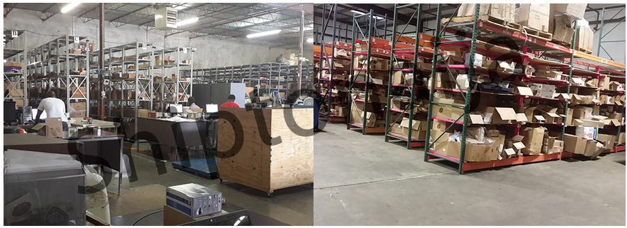 Our Receiving Warehouse - Where we sort shipments from online stores