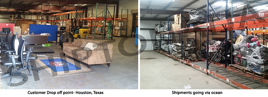 Regardless of the size or weight of your goods, Shiptonaija will ship from Houston to Nigeria